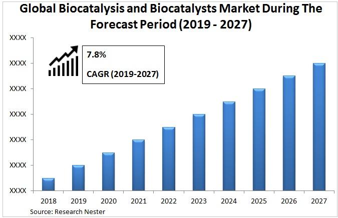 Biocatalysis and biocatalyst market Graph