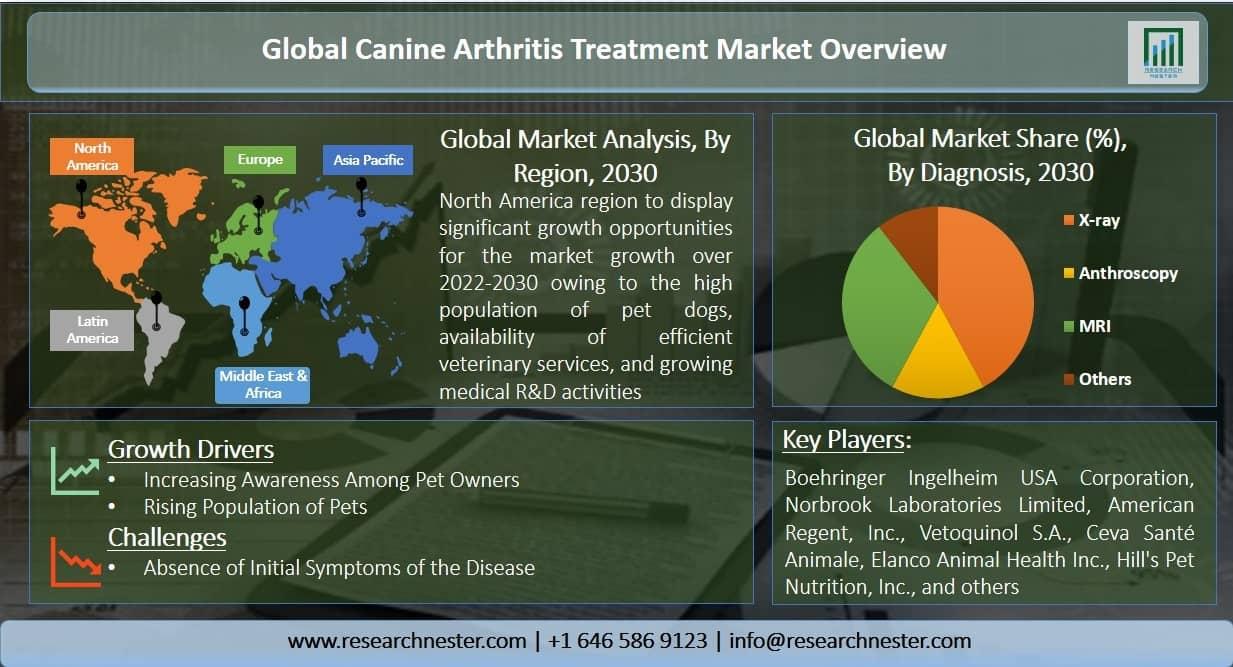 canine arthritis treatment market Graph