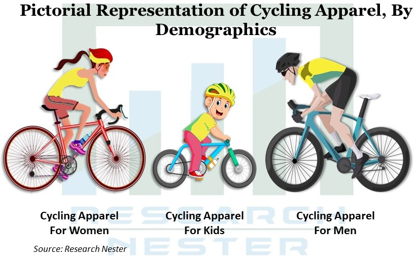 Pictorial representation of cycling