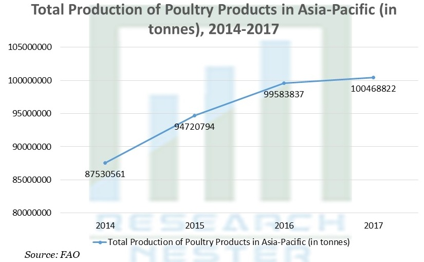 Total Production of Poultry Products