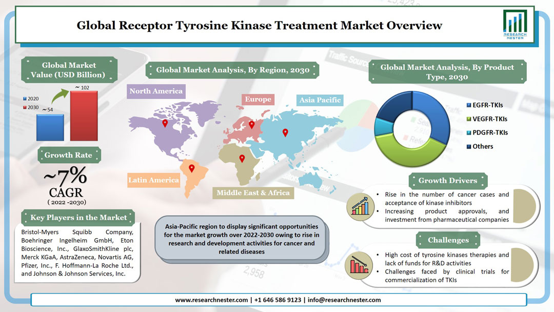 Receptor Tyrosine Kinase Treatment Market Graph
