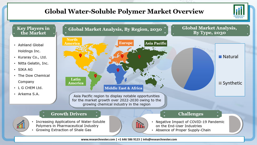 Water-Soluble Polymer Market Graph