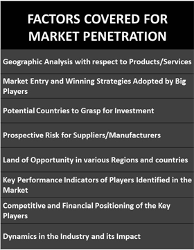 Factors Covered for Market Penetration